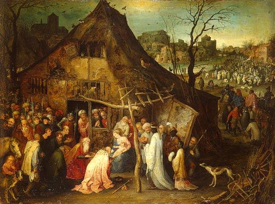 Kunst Van De Middeleeuwen.Driekoningen In De Middeleeuwse Vlaamse Kunst