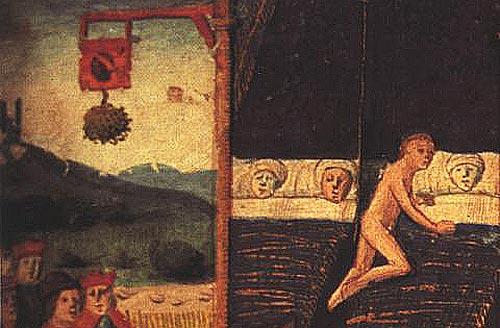 de rituelen van de pelgrims naar Santiago de Compostela