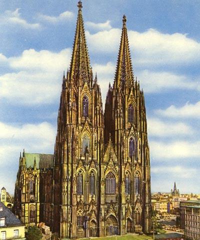 Middeleeuwse bedevaarten naar de drie koningen in keulen - Verblijf kathedraal ...