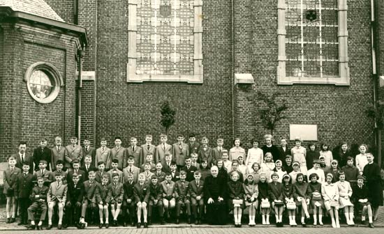 de hele schoolbevolking in 1966
